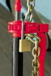 QuikBinder plus red locked