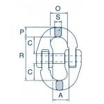 Maatvoerng CL verbindingsschalm