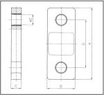 Trekkrachtmeter - tekening