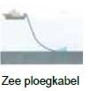 Zee-ploegkabel