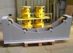 Draaitafel voor rotorbladen windturbine ø2400mm