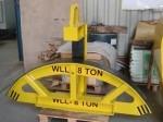 Hijsjuk WLL 8T voor hijsen rotorbladen windturbine ø2400mm