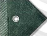 Bouwheknet groen detail