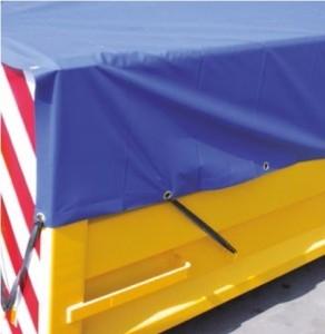 Containerkleden, container, kleed, afdekkleed, containerkleed, Containerkleden PVC 570 gram