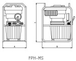 FPH-MS afmetingen